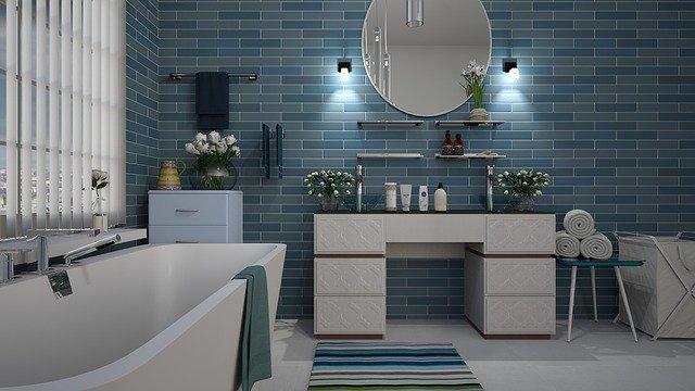 Comment  faire tenir un rideau de douche ?